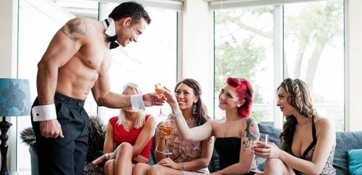 hire a topless bartender