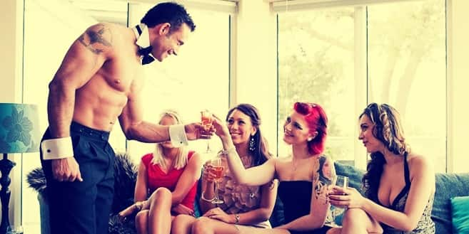 hen party buff butlers