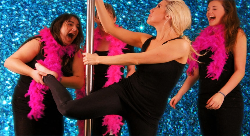 pole dance classes for hen parties