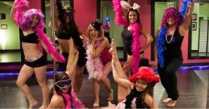 hen party pole dance classes