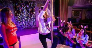 hen party pole dance classes dublin